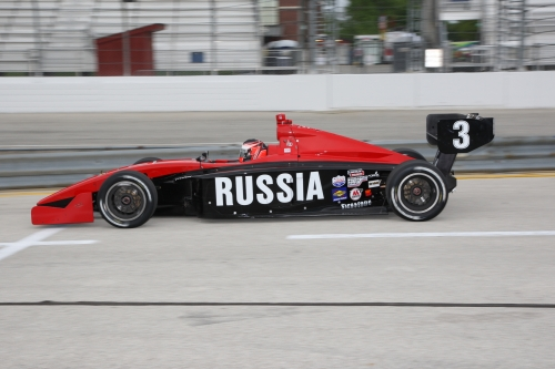 Indy Lights: Сергей Мокшанцев, Айова-2009